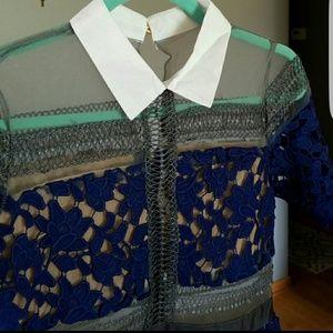 Zara Dresses - SELF PORTRAIT STYLE LACE DRESS